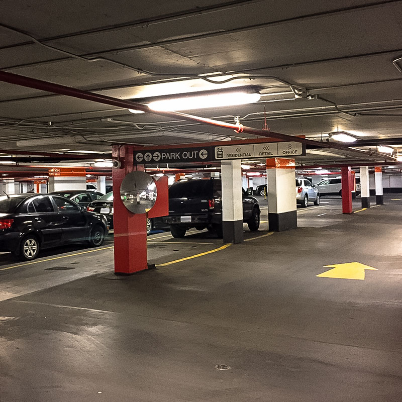 Postmedia Place Underground Parking