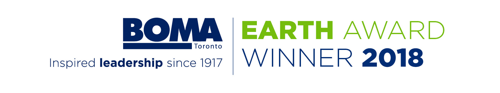 BOMA Earth Award Winner 2018