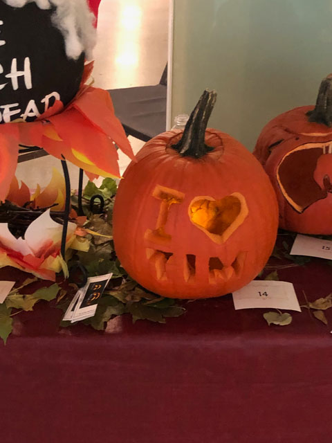 2018 Pumpkin Carving Contest Third Place