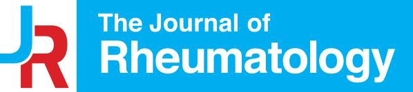 The Journal of Rheumatology Publishing Company Ltd